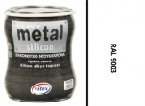 Vitex Heavy Metal Silikon - alkyd RAL 9003 750ml